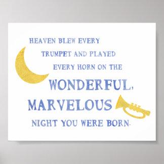 Na noite você era poster nascido pôster