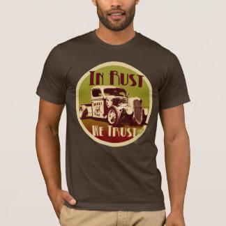 Na oxidação nós confiamos a camisa