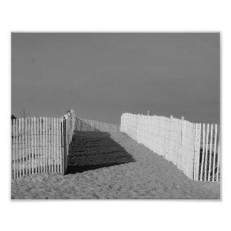 Na praia 10 x impressão 8 fotográfico impressão de foto