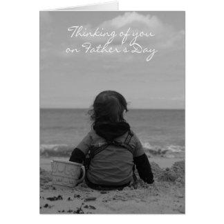 Na relembrança do pai - cartão do dia dos pais