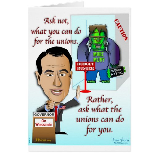Na união nós confiamos cartao