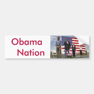 Nação   de Obama Adesivo Para Carro
