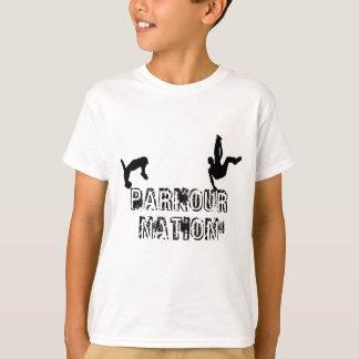 Nação de Parkour Camiseta