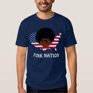 Nação do funk: Os Estados Unidos do funk Camiseta