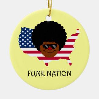 Nação do funk: Os Estados Unidos do funk Ornamento
