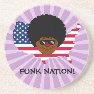 Nação do funk: Os Estados Unidos do funk Porta Copos De Arenito