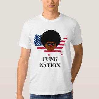 Nação do funk: Os Estados Unidos do funk Tshirt