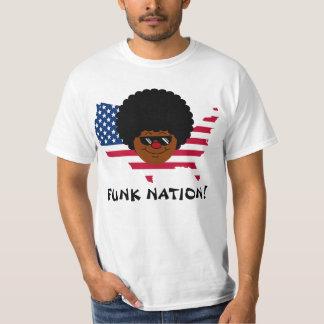 Nação do funk: Os Estados Unidos do funk Tshirts