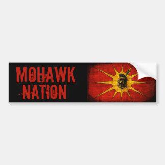 Nação do Mohawk Adesivo Para Carro