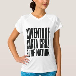 Nação do surf de Santa Cruz da aventura de Tshirt
