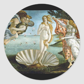 Nacimiento-Venus-Botticelli Adesivo