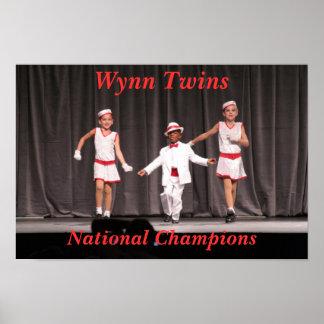 Nacionais da dança posters