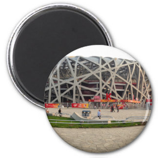 Nacional o Estádio Olímpico de Beijing Ímã Redondo 5.08cm