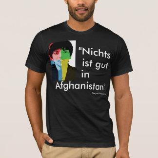 """""""Nada é em Afeganistão bom"""" Käßmann alpargata - Camiseta"""