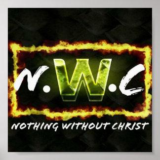Nada sem poster do cristo