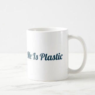 Nada sobre mim é caneca plástica
