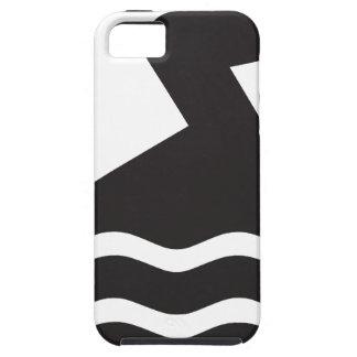 Nadador Capa Tough Para iPhone 5