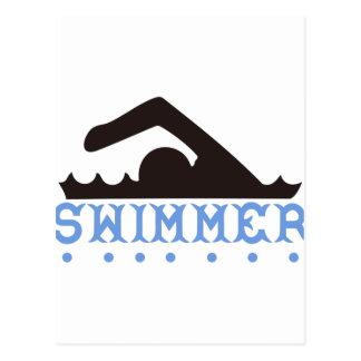 Nadador Cartão Postal
