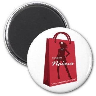 Naima_Logo_transparent_web Imãs De Geladeira