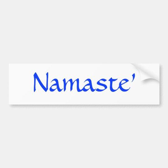 Namaste Adesivo Para Carro