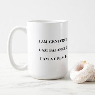 Namaste - caneca com citações positivas