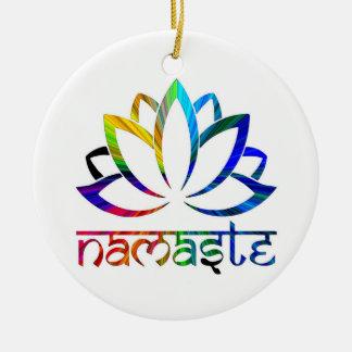Namaste, flor de Lotus, espiritual, ornamento