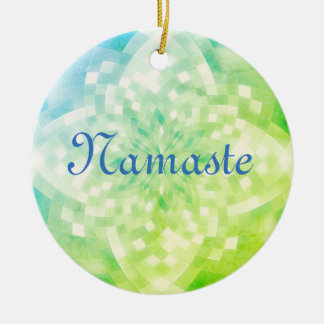 Namaste Ornamento De Cerâmica