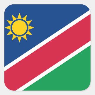 Namíbia Adesivo Quadrado