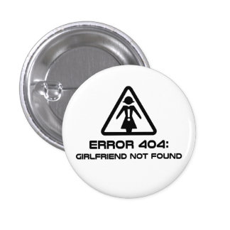 Namorada do erro 404 não encontrado boton