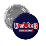 Namorada orgulhoso de USCG Pins
