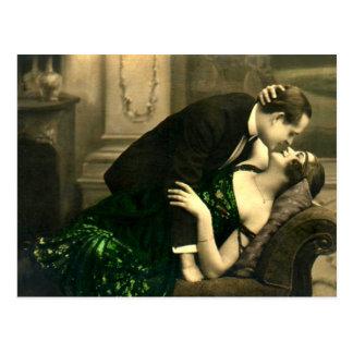 Namoradeira do francês - vintage romântico cartão postal