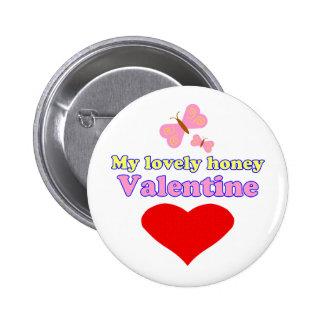Namorados bonitos do mel boton