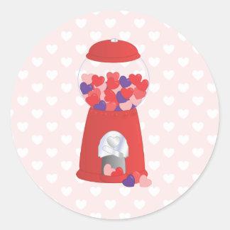 Namorados Bubblegum Adesivo