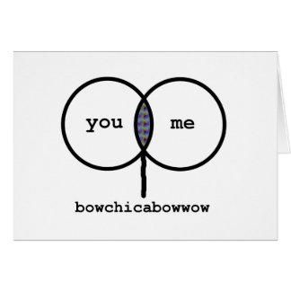 Namorados: Cartão engraçado do gráfico de
