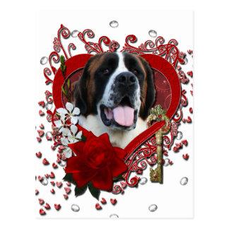 Namorados - chave a meu coração - St Bernard - Mae