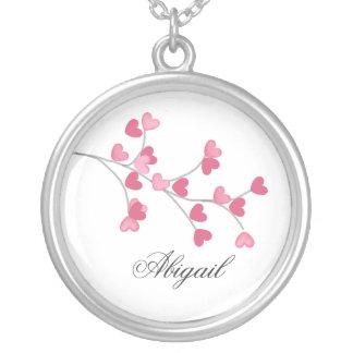 Namorados da colar da árvore do coração - Abigail