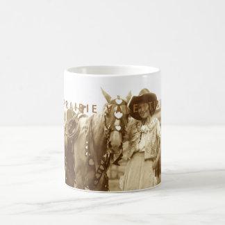 Namorados da pradaria caneca de café