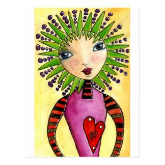 Namorados de Saffy Cartão Postal