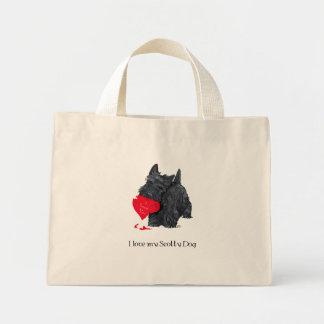 Namorados de Terrier do Scottish Bolsas Para Compras