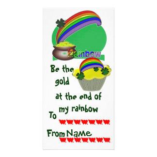 Namorados do irlandês da sala de aula cartões com foto