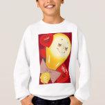 Namorados estranhos engraçados bonitos do coração t-shirts