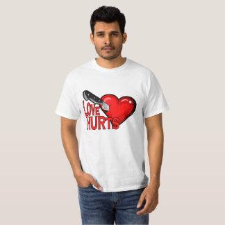 """namorados ferido do amor anti camisa engraçada """"."""