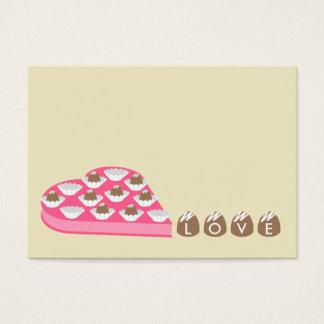 Namorados - grupo de 100 - cartões dos doces de