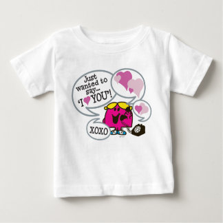 Namorados pequenos da senhorita Chatterbox | Camiseta Para Bebê