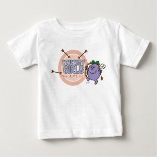 Namorados pequenos da senhorita Impertinente | Camiseta Para Bebê