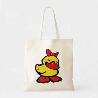 namoricado pato bolsa de lona