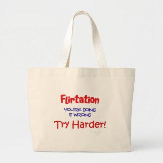 Namorico você está fazendo-o errado bolsa para compra
