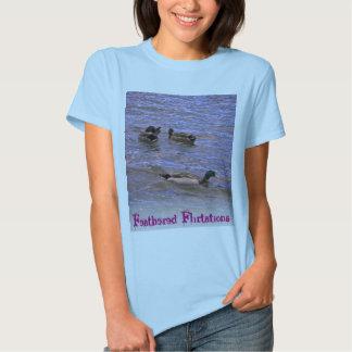 Namoricos emplumados tshirts