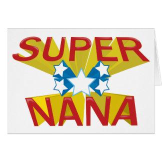 NANA SUPER CARTÃO COMEMORATIVO