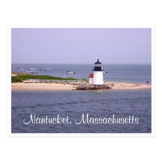 Nantucket - Cape Cod - cartão de Massachusetts